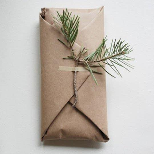 Brown Paper and Sticks Kraft Paper